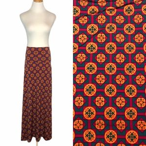 NWT LuLaroe Geometric Print Maxi Skirt or Dress xs